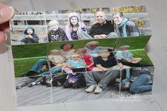 Photo Blocks Puzzle Cube