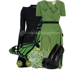 """""""Butterfly Inspiration"""" by mhuffman1282 on Polyvore"""
