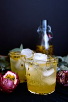 Delicious & Easy Lilikoi Passionfruit Cocktail Recipe. The best winter and holiday cocktail or mocktail!
