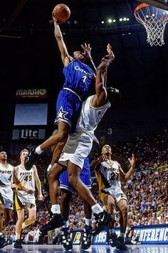 Penny skies high, '95 East Finals.
