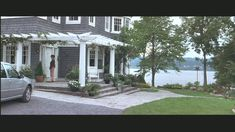 What Lies Beneath house-front porch Front Porch Pergola, House Front Porch, Name That Movie, Nantucket Style, What Lies Beneath, New England Style, Expensive Houses, Home Tv, Victorian Homes