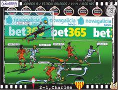 RC Celta de Vigo, 2 - Valencia CF, 1 - Charles, 2-1, min.78'