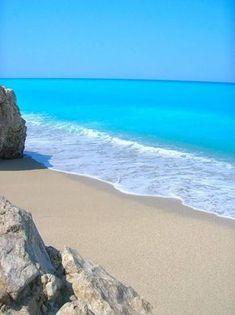 Katisma Beach, Lefkada, Greece.