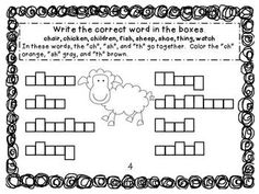 Dolch 95 Nouns Review.  11 Different pages with answer keys.  Fill in the correct word and color boxes according to directions.  Simple and easy to use!  $ #Dolch #tpt #teacherspayteachers #nouns #letterpatterns #digraphs #vowelpairs Classroom Language, Math Classroom, Classroom Ideas, English Language Arts, Literacy Skills, Letter Patterns, Letter Sounds, Color Box, Learn To Read