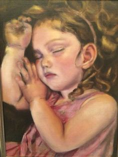Lorelei sleeping - oil on linnen Hyatt 2015 Original Art, Paintings, Oil, Landscape, Portrait, Couple Photos, Couples, Couple Shots, Scenery