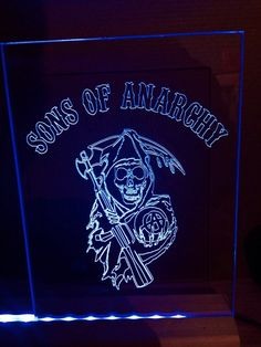 Sons of anarchy free standing light up by IncredibleInnovation