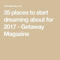 Our Photo Editor travels a lot- these are her favourite South African spots of the year. Magazine, Places, Holiday, Vacations, Holidays, Warehouse, Vacation, Lugares, Newspaper