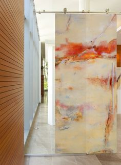 Contemporary Art Doors by Sargam Griffin