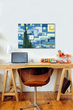 The Starry Night By Adam Lister Gallery Wrapped Canvas Print on @HauteLook