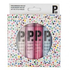 Perlenmaker Pen Set Pastell 6x30ml