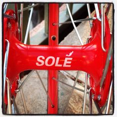 Sole bicycles. Get one. Shot by me