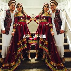 If you want to see beautiful people, great texts, amazing quotes, lovely clothes and make ups, little Ghaybat and what can make you smile Stay here! Wedding Outfits For Women, Pakistani Wedding Outfits, Afghani Clothes, Navratri Dress, Afghan Wedding, Afghan Girl, Afghan Dresses, Couple Outfits, Party Wear Dresses