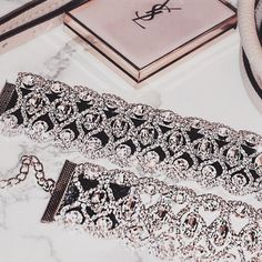 Find images and videos about pink, luxury and jewelry on We Heart It - the app to get lost in what you love. Xmen, The Bling Ring, Bling Bling, Jewelry Accessories, Fashion Accessories, Lingerie Accessories, Piercings, Diamond Choker, Gucci