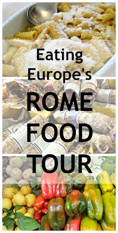 Taking a food tour is a great way to get to know a city and to find out where to eat and where not to eat. I took the Eating Europe Food Tour in Rome and had a blast!