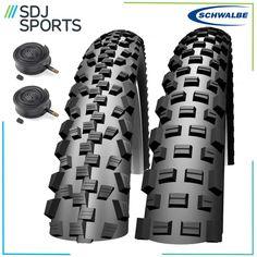 "Schwalbe Black Jack & Black Shark 26"" Mountain Bike Tyres"