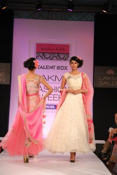 Lakme Fashion Week Anushree Reddy. Wouldn't you love to wear to a friend's wedding?