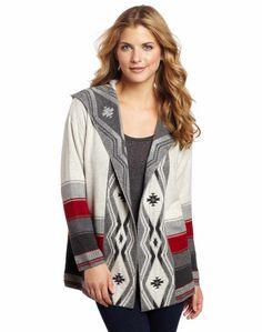 Pendleton Women's Petite Ombre Stripe Hoodie