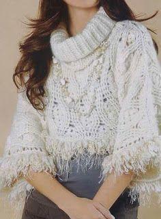 Suéter corto