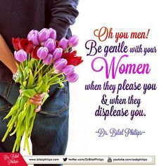 Be nice to to your wife. She doesn't deserve your anger or your rudeness. Love and cherish her. She is worth it. #islamicOnlineUniversity #BilalPhilips #HalfOurDeen