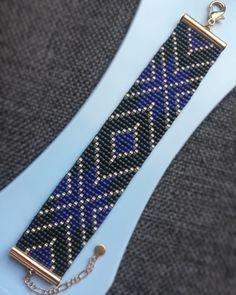 Tie Clip, Beaded Jewelry, Beadwork, Accessories, Fashion, Fabrics, Bangle Bracelets, Blue Prints, Creative Crafts