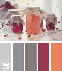 preserved hues (fall #color palette)