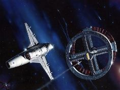 Star Quest (2001, A Space Odyssey) by Peter Elson, Science Fiction Illustrator