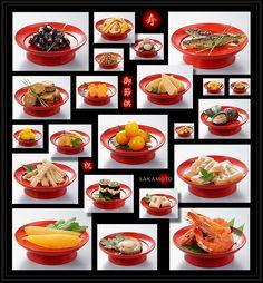 """""""おせち料理"""" Japanese New Year's Food: Osechi Ryori"""