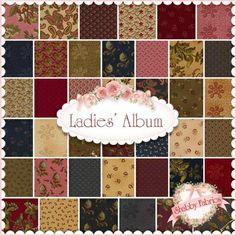 Ladies' Album  Charm Pack by Barbara Brackman for Moda