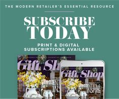 Gift Shop is the modern retailer's one-stop resource for trending products, ideas and inspiration. Sign up now using code PTHalf19 for 50% off the subscription price: giftshopmag.com/subpost.