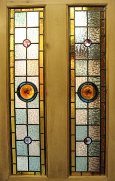 stained glass door panels - Google Search