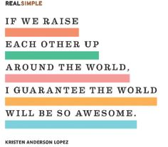 The Real Simple Daily Thought by Kristen Anderson Lopez Up Quotes, Great Quotes, Inspirational Quotes, Simple Quotes, Cool Words, Wise Words, Power Of The Tongue, Funny One Liners, Daily Thoughts