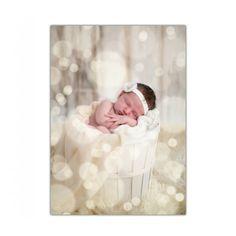 Love this idea for Newborn Christmas Card.