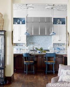 Kitchen Lighting Ideas - Kitchen Lighting Fixtures - House Beautiful