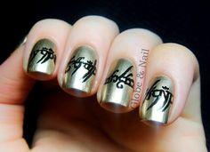 Globe & Nail The Hobbit and Lord of the Rings #nail #nails #nailart