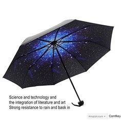 Umbrella Manual OpenClose Travel Creative Star Umbrella Compact Umbrella Sky >>> Learn more by visiting the image link. (Note:Amazon affiliate link)