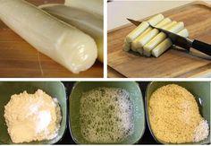 Homemade mozzarella sticks!
