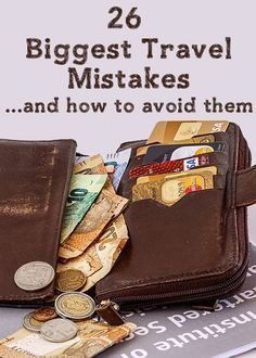 26 Biggest Travel Mistakes and how to avoid them - just in case. Travel Blog, Travel Info, Travel Advice, Solo Travel, Time Travel, Places To Travel, Travel Destinations, Travel 2017, Overseas Travel