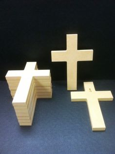 25 Unpainted 6'' x 9'' Crosses, 1.00  ea., Great for VBS, Free Shipping 4-13