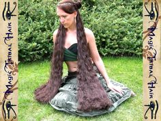 Hey, I found this really awesome Etsy listing at https://www.etsy.com/listing/113171865/2-x-medieval-hair-falls-game-of-thrones