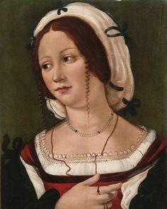 c. 1502-1531. Bartolomeo Veneto, Portrait of a Lady.