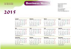 Kalender 2015 Indonesia - Design_45_Waves
