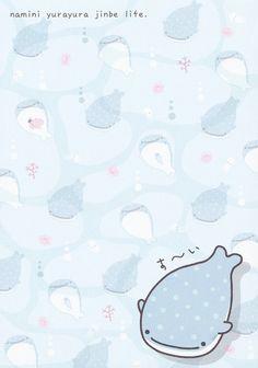 """San-X Jinbesan (""""Whale Shark"""") Memo (#1)"""