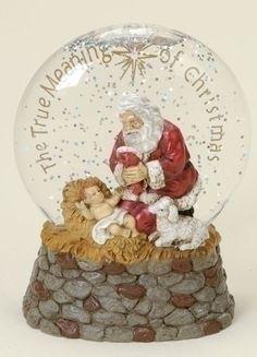 Kneeling Santa Glitterglobe 다모아 코리아 핼로우~WWW.MD414.COM~다모아 코리아 핼로우