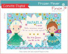Convite Digital Frozen Fever