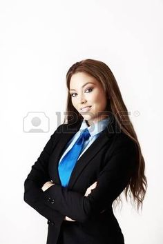 sexy woman wearing a suit with a shirt and tie