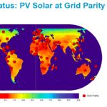 Solar Grid Parity In 102 Countries (Map)