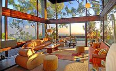 moderne Architektur Wohnzimmer