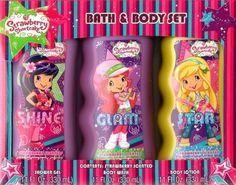 Strawberry Shortcake Bath & Body Set ~ Gel ~ Body Wash ~ Lotion Strawberry Shortcake.