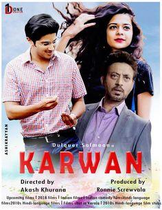 T-series Song: Karwaan Full Hindi Movie 2018 Upcoming Films, Hindi Movies, Film Posters, Comedy, Bollywood, Language, Songs, Film Poster, Languages