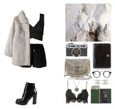 """""""Unknown"""" by mona-sml ❤ liked on Polyvore featuring Jeffrey Campbell, From St Xavier, Chanel, Givenchy, Ambre Babzoe, Isabel Marant and Royce Leather"""